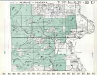 Map Image 043, Marinette County 1973